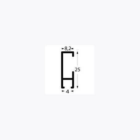 Rail cimaise Cliprail Profil